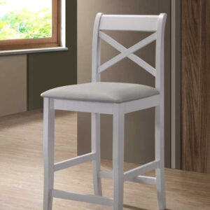 Clermont grey stool