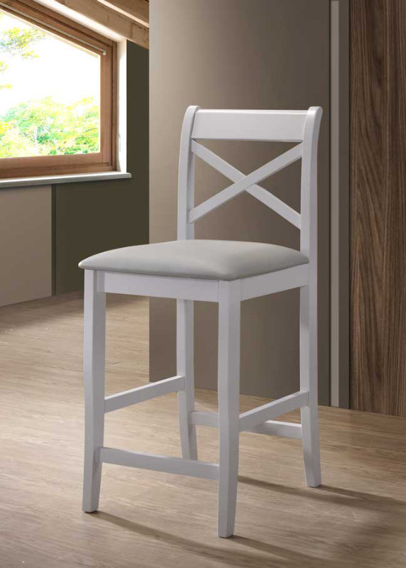 Clermont grey stool