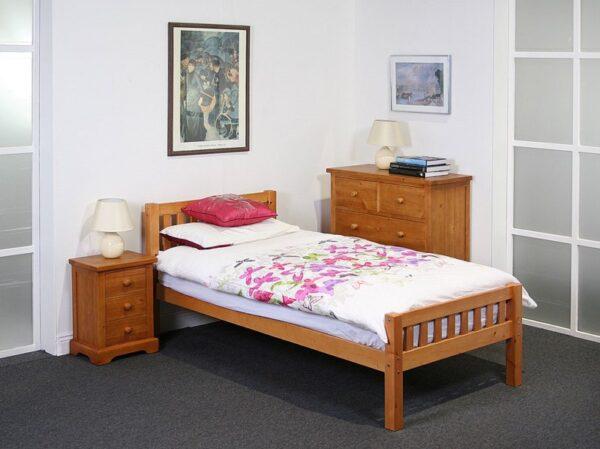 katie wooden bed